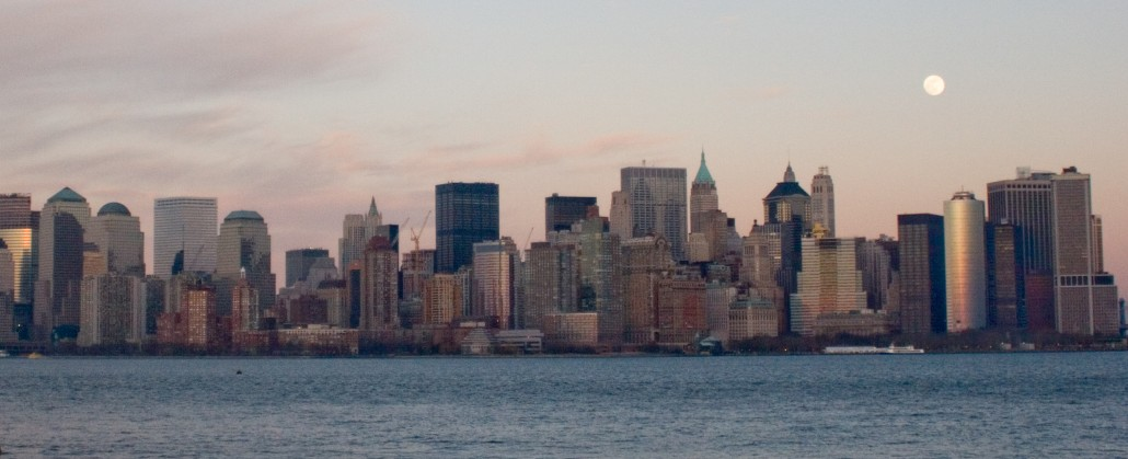 Manhattan Skyline, NYC. © Camilla Lai, 2009.